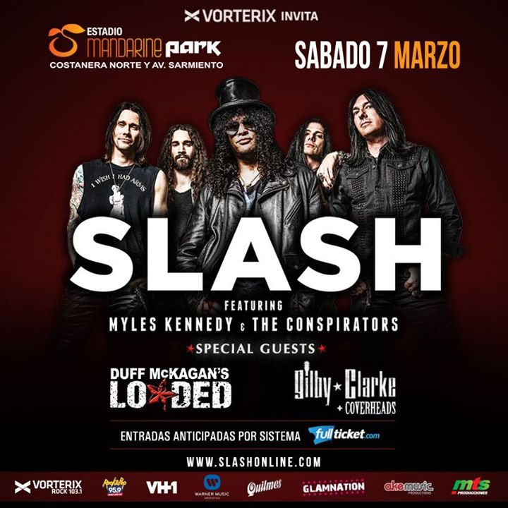 Lyric mr brownstone lyrics : Slash joined by Duff McKagan & Gilby Clarke in Buenos Aires at In ...